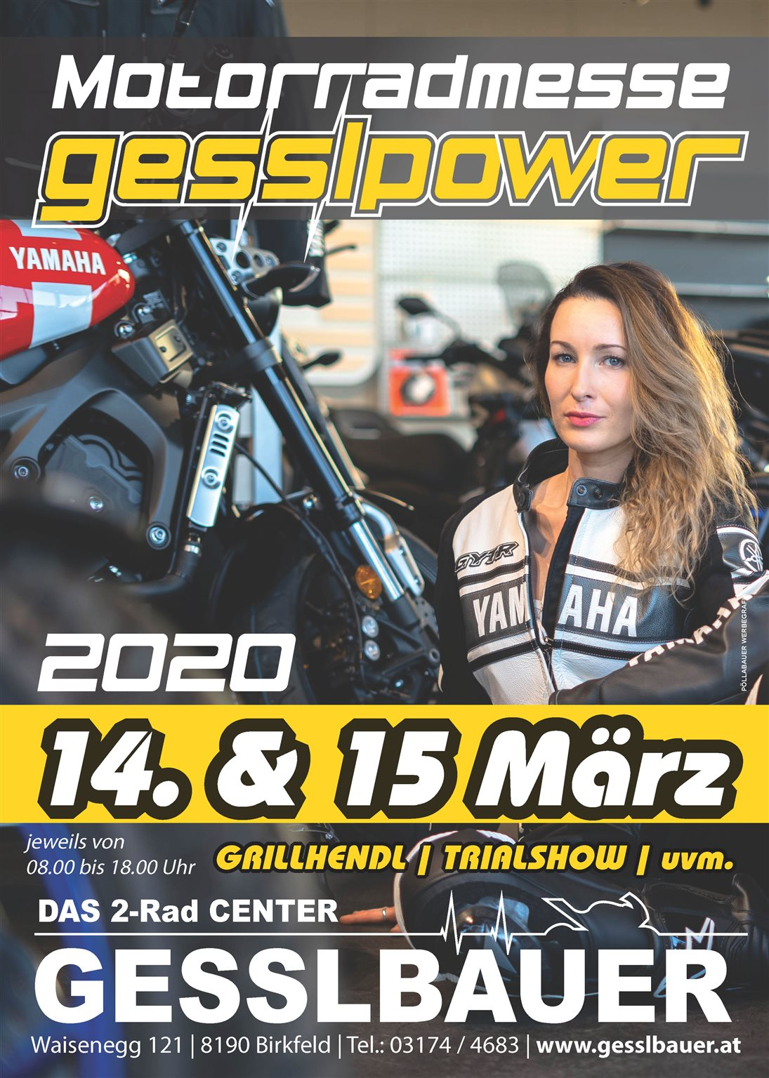 NEWS Motorradmesse am 14. und 15. März 2020