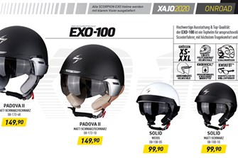 NEWS Der XAJO (Jet-Helme) Katalog zum downloaden