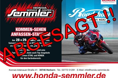 /newsbeitrag-honda-semmler-abgesagt-road-show-und-gartenmesse-360703