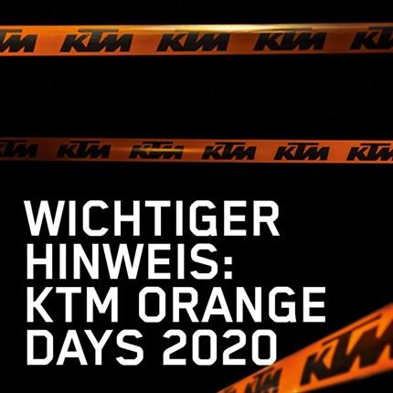 KTM Zauner Orange Day 2020  Liebe Kunden, Freunde und Geschäftspartner, aufgrund der aktuellen Situation und der damit verbu... Weiter >>