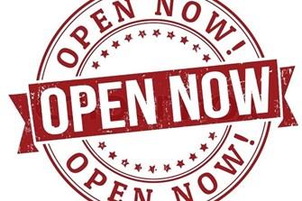 Wir haben wieder für euch geöffnet!