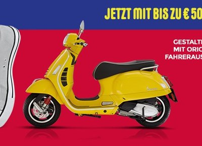 NEWS Vespa Aktion 500,- Euro sichern