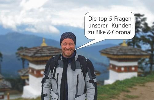 Top 5 Fragen zu Motorrad / Covid19