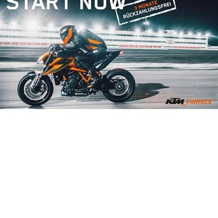3 Monate rückzahlungsfrei!  KTM Finance – Jetzt KTM finanzieren und 3 Monate rückzahlungsfrei Gas geben. START NOW! Es kann ... Weiter >>