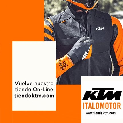 Tienda On-Line  Vuelve a estar activa nuestra tienda On-Line KTM. Todos los accesorios, recambios y ropa KTM a un sólo click. Entra y piérdete e... Continuar >>