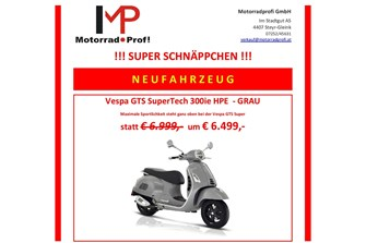 VESPA GTS SuperTech 300ie HPE SCHNÄPPCHEN