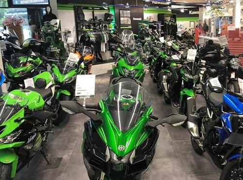 Unsere Kawasaki Modelle