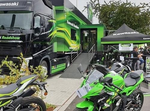 NEWS DONNERSTAG, 4. JUNI 2020 VON 14:00 BIS 19:00 Kawasaki Roadshow bei Team Wahlers Team Wahlers