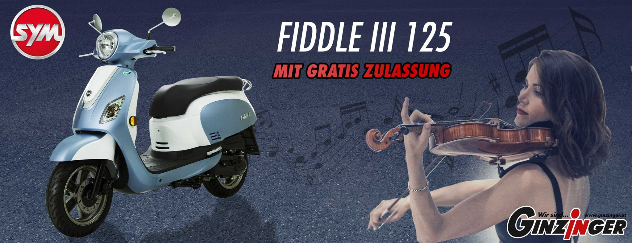 SYM Fiddle III 125