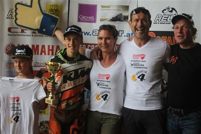 Gratulation an Marcel Stauffer Nr. 4