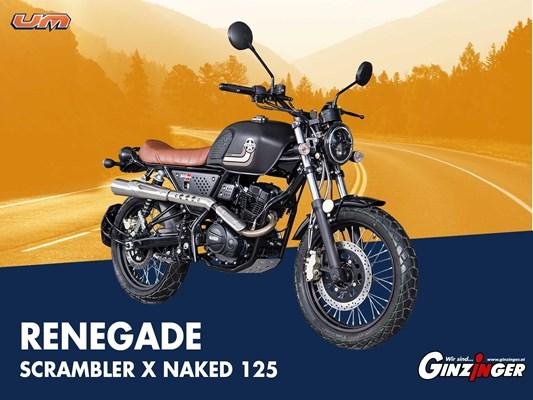 Gebrauchte United Motors UM Scrambler X Naked 125, EZ