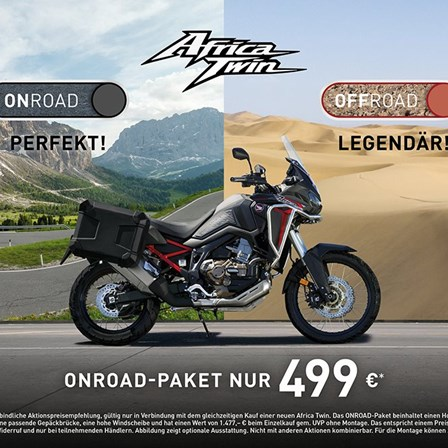 AFRICA TWIN ONROAD-Paket ab 499 € !!!