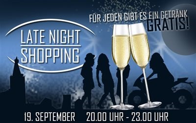 Late Night Shopping am 19.9.2014