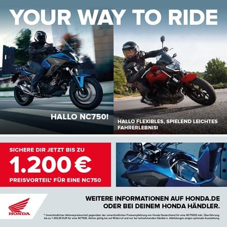 """Unser Herbstangebot  """" bei Honda Team Schlieter """" viele Honda Motorräder  jetzt besonderst güstig"""""""