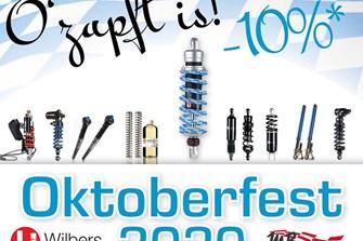 Bild zum Bericht: Wilbers Oktoberfest: -10% auf Wilbers Produkte und Gabelumbauten Stufe 1+2
