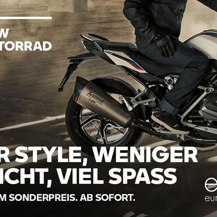 BMW Akrapovic Aktion   BMW Motorrad Akrapovic Sportschalldämpfer Aktion! Satter Sound, geringes Gewicht und edles Design kennzeichnen die Sportschalld... Weiter >>