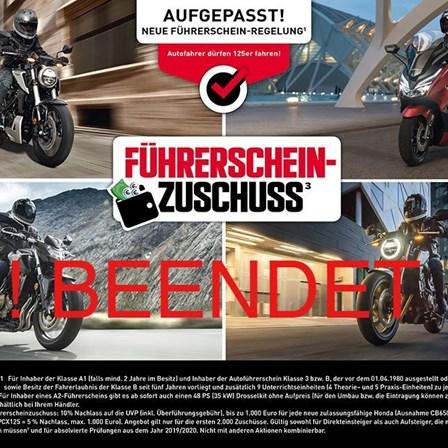 Honda Semmler - Führerschein Aktion beendet !!