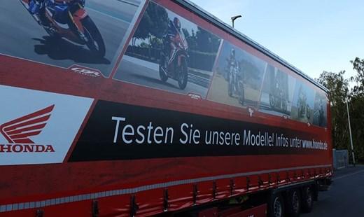 Honda Semmler - Honda Probefahrt Truck
