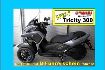 NEWS Tricity 300 bei Motorrad KLUG