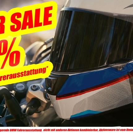 BMW SUMMER SALE  BMW SUMMER SALE Hol Dir bei uns im Haus beim Summer Sale -20% Rabatt auf lagernde BMW Fahrerauss... Weiter >>