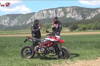 """Bild zum Bericht: Ducati Hypermotard 950 SP: Kunde """"No Pain"""" stellt sein optimiertes Bike vor!"""