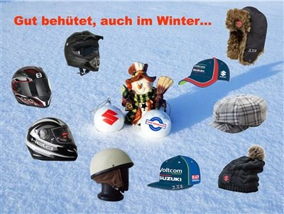 Gut behütet durch den Winter...