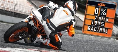 KTM RC 125/390 Aktion! 0% Zinsen