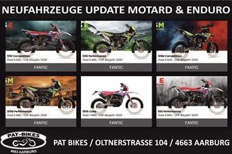 Enduro und Motard bei Pat Bikes