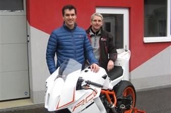 Bild zum Bericht: KTM RC8 von Matthias Lanzinger optimiert von MB Bike Performance