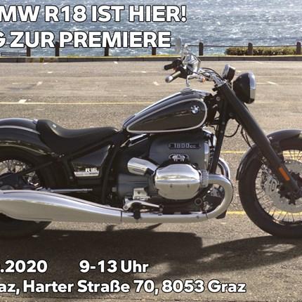 Einladung BMW R18 Sonderöffnungstag  EINLADUNG ZUM SONDERÖFFNUNGSTAG AM 19.09.2020 Wir präsentieren Ihnen die neue BMW R18.  Erlebe die neue BMW R18 als einer de... Weiter >>