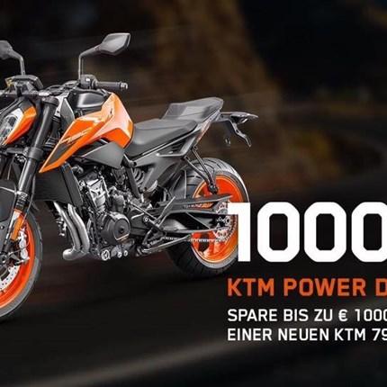 KTM POWER DEAL 790 Duke bis 30.09.2020 !!!  KTM POWER DEAL 790 Duke