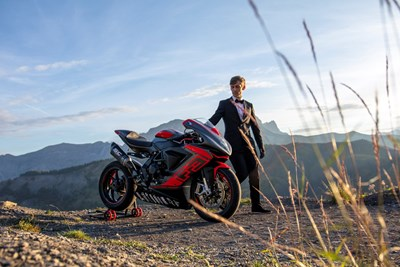 "MV Agusta extreme riding is back with ""Mr Nogues II"""