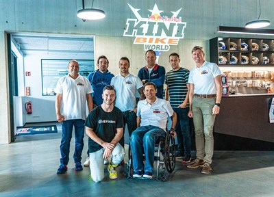 Kini News Jeffrey Herlings zu Besuch in der KINI Bike World