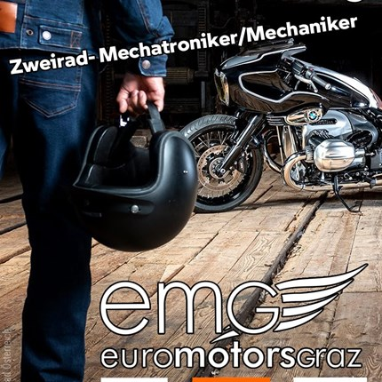 Mitarbeiter gesucht - Zweirad- Mechatroniker/Mechaniker (m/w/)  Zweirad- Mechatroniker/Mechaniker (m/w/)   für unser Werkstatt-Team, Vollzeitbeschäftigung ab 02.2021 Ihre Tätigkeiten:  - D... Weiter >>