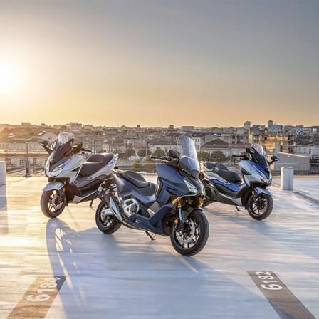 Honda Forza Premium Roller Reihe 2021 - Neu mit Forza 350 und Forza 750