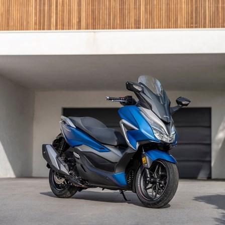 Honda Semmler - 2021 neuer Forza 350