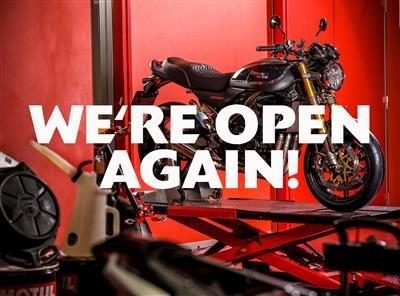 Ab dem 11. Mai sind die Verkaufsräume der Schweizer Kawasaki Händler wieder geöffnet!