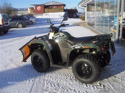 Atemberaubend 4*4 Quad- Winteraktion mit Schneeschild für Winterdienst! #IC_99