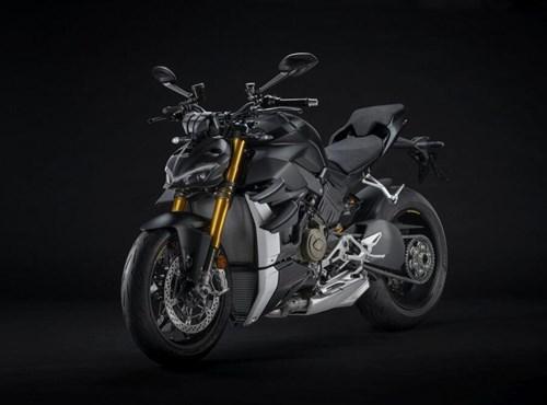 """Die neue Ducati Streetfighter V4 S in """"Dark Stealth"""", 2021"""