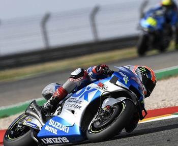 Dank kluger Strategie holen Rins und Mir vom Suzuki ECSTAR Team beim zweiten Grand Prix im Motorland Aragon am 25. Oktober 2020 er...