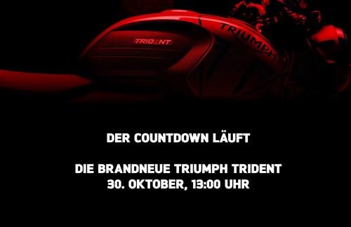 30. Oktober: TRIUMPH Trident - Online-Live-Präsentation