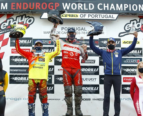 ENDUROGP, YOUTH CLASS - JED ETCHELLS CONSOLIDATES ITS LEADERSHIP AT THE PORTUGAL GP