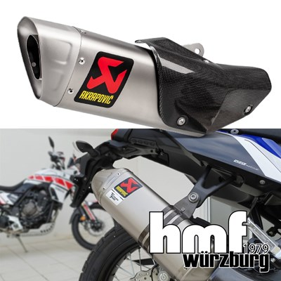 Akrapovic Aktion bei hmf