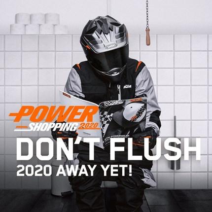 KTM POWERSHOPPING 2020 SICHERE DIR DEINEN 50 € SHOPPING-BONUS* BEIM KTM POWERSHOPPING 2020  Starte zum Jahresende mit dem KTM POWERSHOPPING optimal aus... Weiter >>