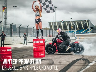 WINTER PROMOTION -  Dr. Jekill & Mr. Hyde + Motul