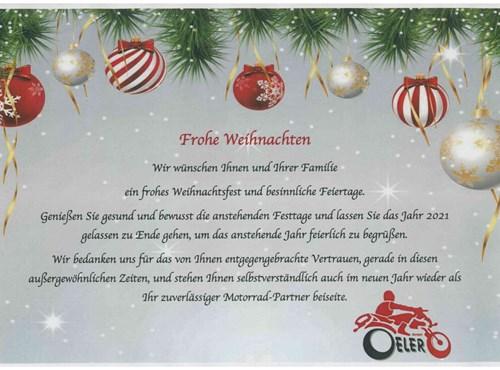 NEWS Weihnachtsgrüße