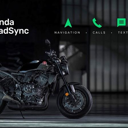 Honda Smartphone Voice Control System und Honda RoadSync App für Motorräder