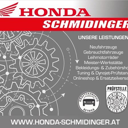 Weihnachtsurlaub von 24.12.20 - 06.01.2021Honda Schmidinger