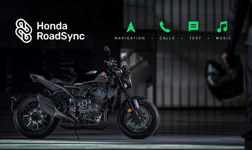 """""""Honda Smartphone Voice Control system"""" und """"Honda RoadSync App"""" für Motorräder"""