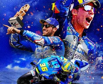 MotoGP- und Endurance-WM 2020: Für das Suzuki Racing Team ging heuer ein Traum in Erfüllung: Joan Mir siegt in der MotoGP-WM auf d... Weiter >>
